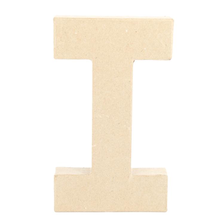 Shamrock Craft Papier Mache Letter I