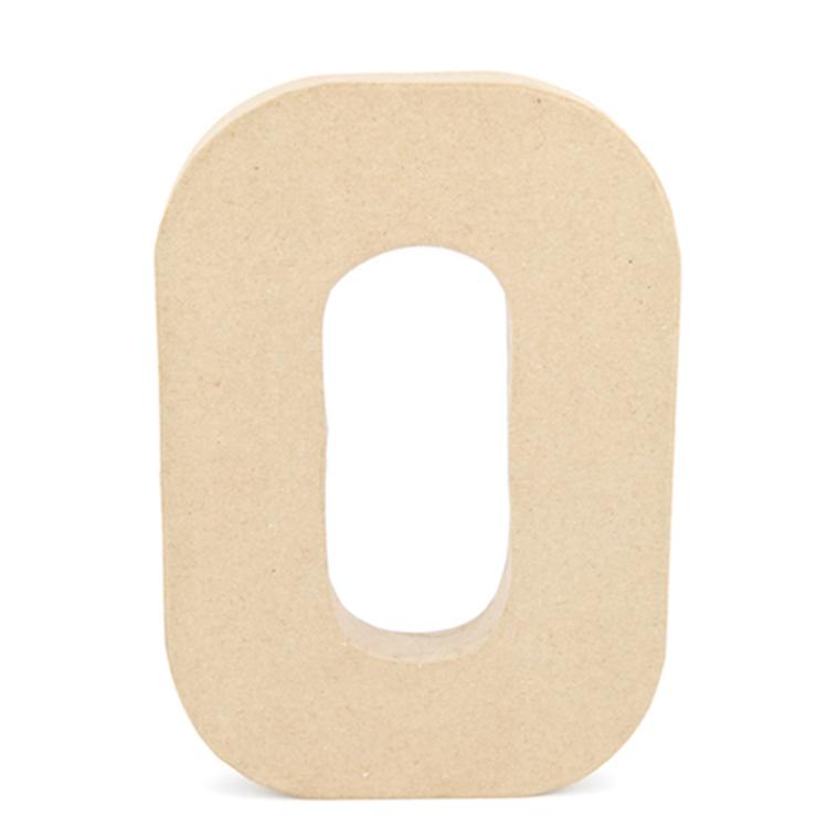Shamrock Craft Papier Mache Letter O
