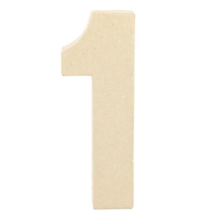 Shamrock Craft Papier Mache Number 1