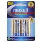 Maxell Premium Alkaline Battery AA 4 Pack Multicoloured AAA