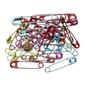 Birch Multicoloured Safety Pins 100 Pack Multicoloured