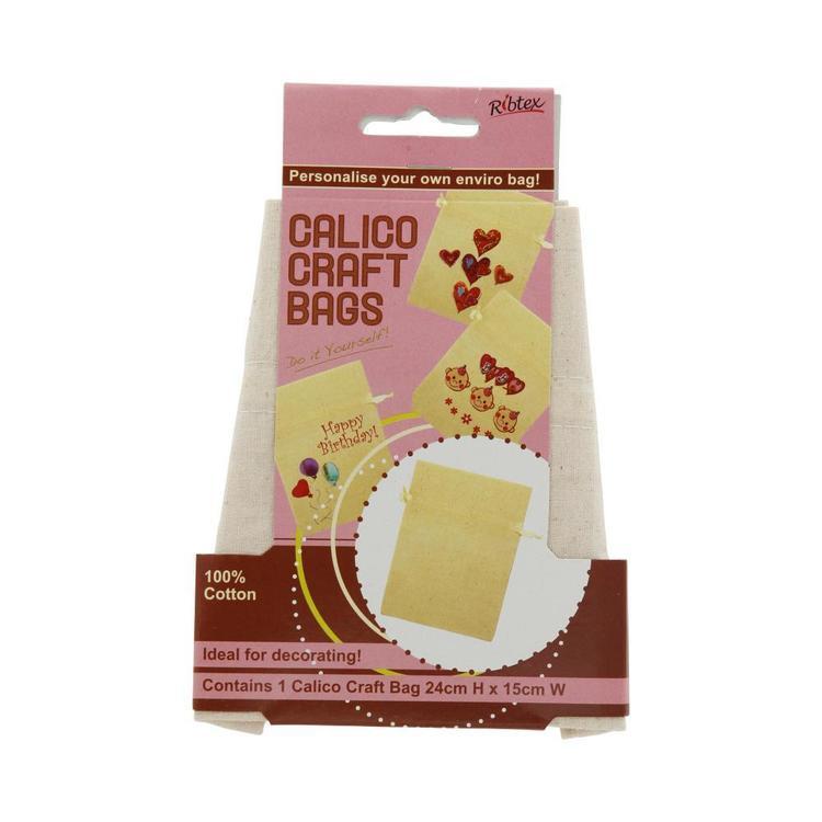 Ribtex Calico Craft Gift Bag