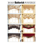 Butterick B5369 Fast & Easy Reversible Valances One Size