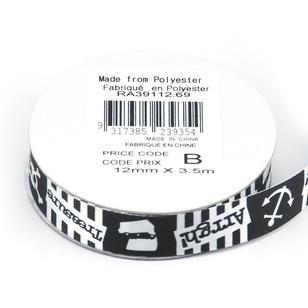 Celebrate 12 mm Satin Pirate Stories Ribbon