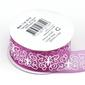 Celebrate 25 mm Organza Butterfly Charm Ribbon