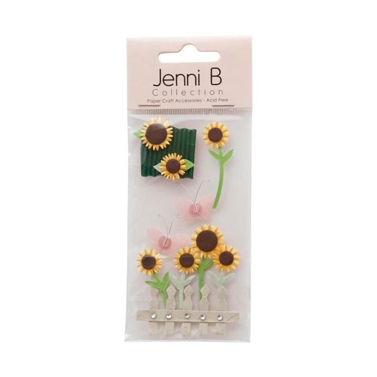 Jenni B Sunflowers Stickers