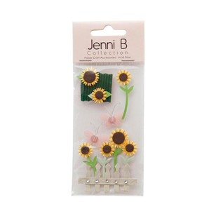 Jenni B Sunflowers Stickers