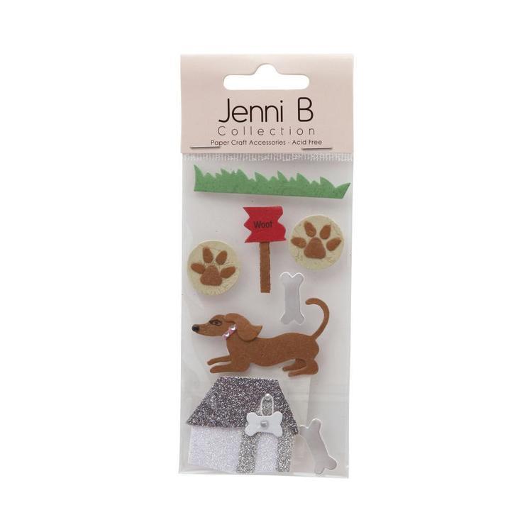 Jenni B Dog House Stickers