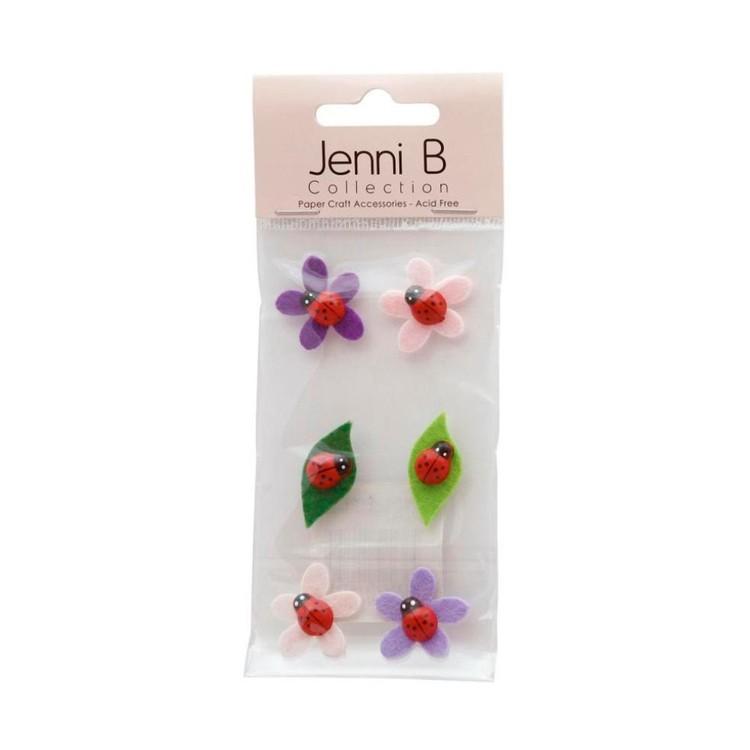 Jenni B Lady Bug Stickers