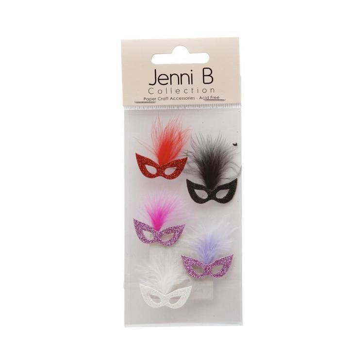 Jenni B Bold Party Masks Stickers
