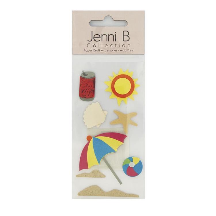 Jenni B Starfish Stickers