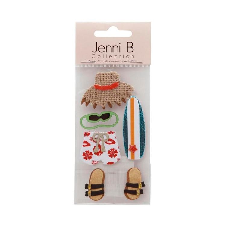 Jenni B Surfboard Stickers