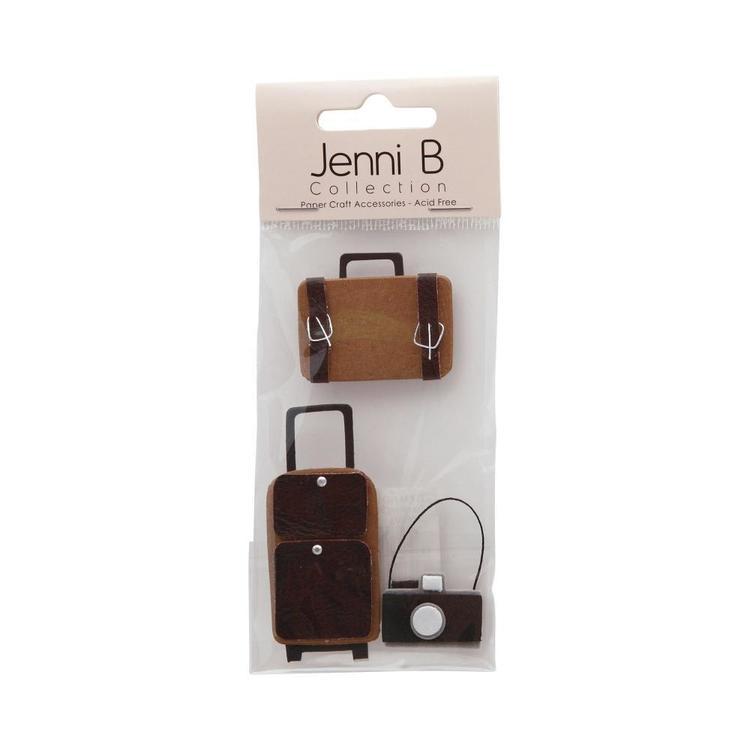 Jenni B Travel Theme Stickers