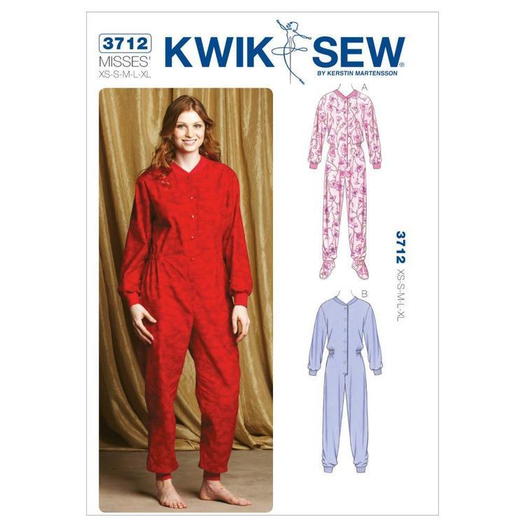 Kwik Sew Pattern K3712 Pajamas