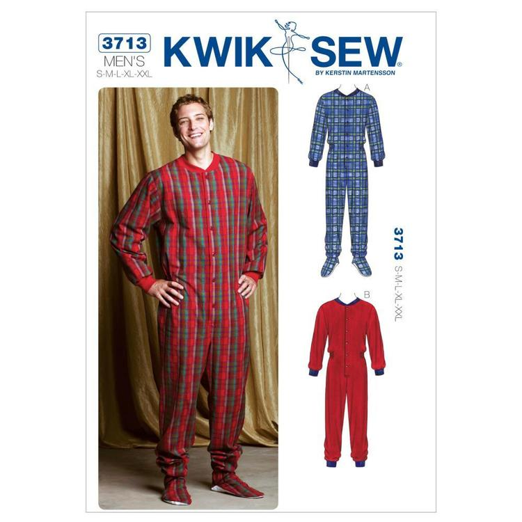 Kwik Sew Pattern K3713 Pajamas  Small - XX Large