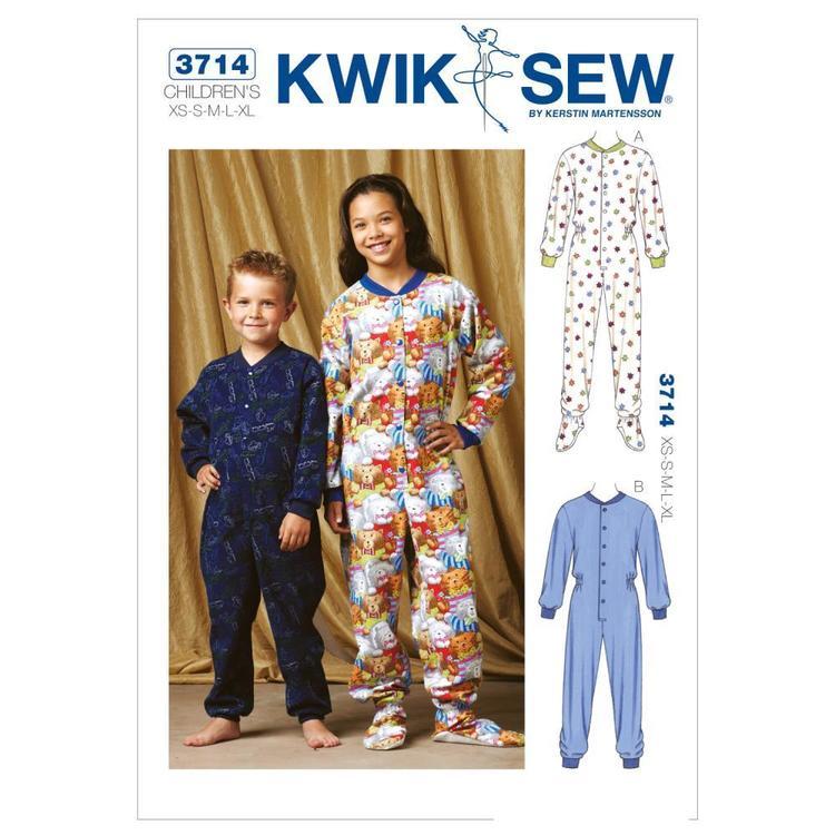 Kwik Sew Pattern K3714 Pajamas