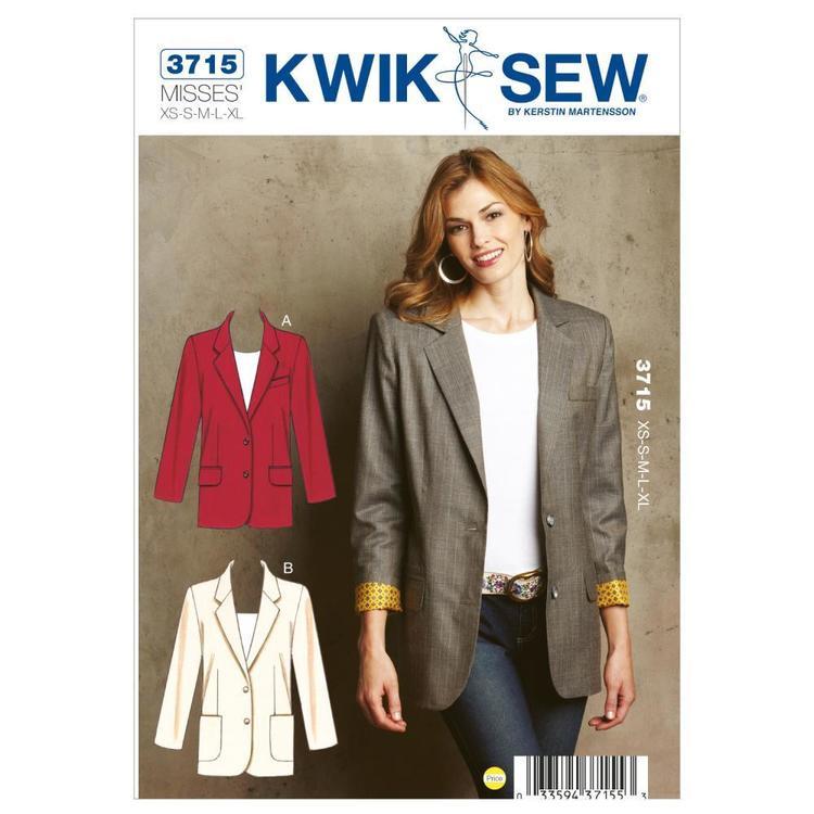 Kwik Sew Pattern K3715 Blazers