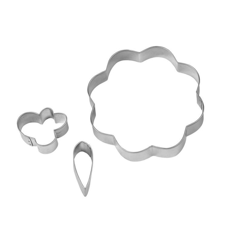 Wilton Flower Stackable Cookie Cutter Silver