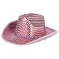 Party Creator Sequined Cowgirl Hat Pink