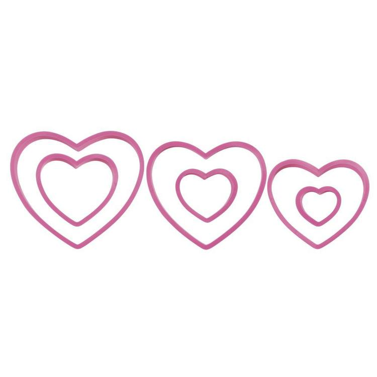 Wilton Cookie Cutter Nesting Heart