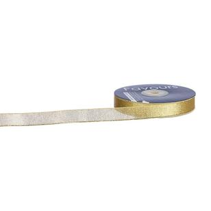 Favours 15 mm Metallic Taffeta Ribbon