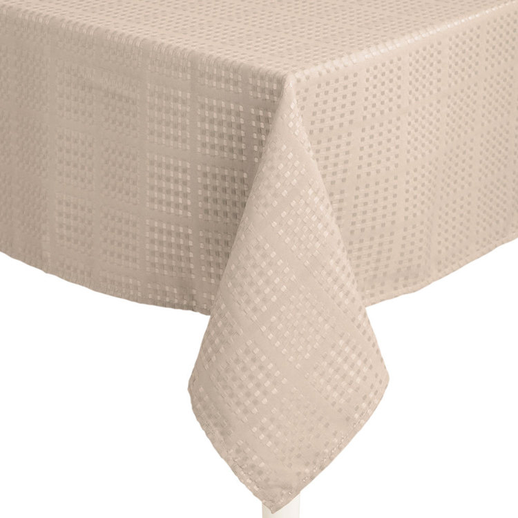 Hyde Park Dobby Check Tablecloth
