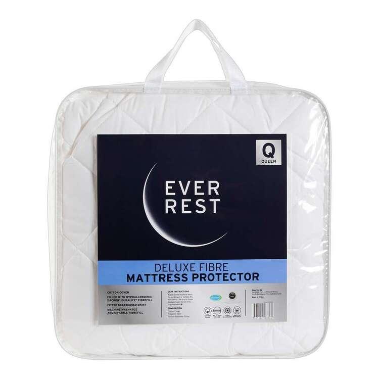 Ever Rest Deluxe Fibre Mattress Protector