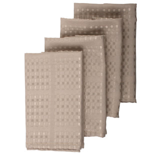 Hyde Park Dobby Check Napkins 4 Pack