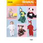 Simplicity 2506 Kids Costumes  6 Months - 4 Years
