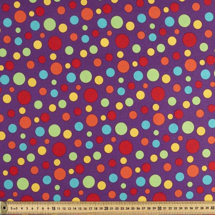 Spots & Stripes Multi Spots 112 cm Cotton Fabric
