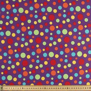 Spots & Stripes Multi Spots 112 cm Cotton Fabric