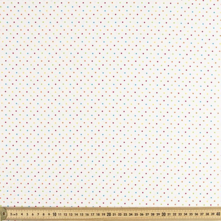 Spots & Stripes Mini Spot 112 cm Cotton Fabric