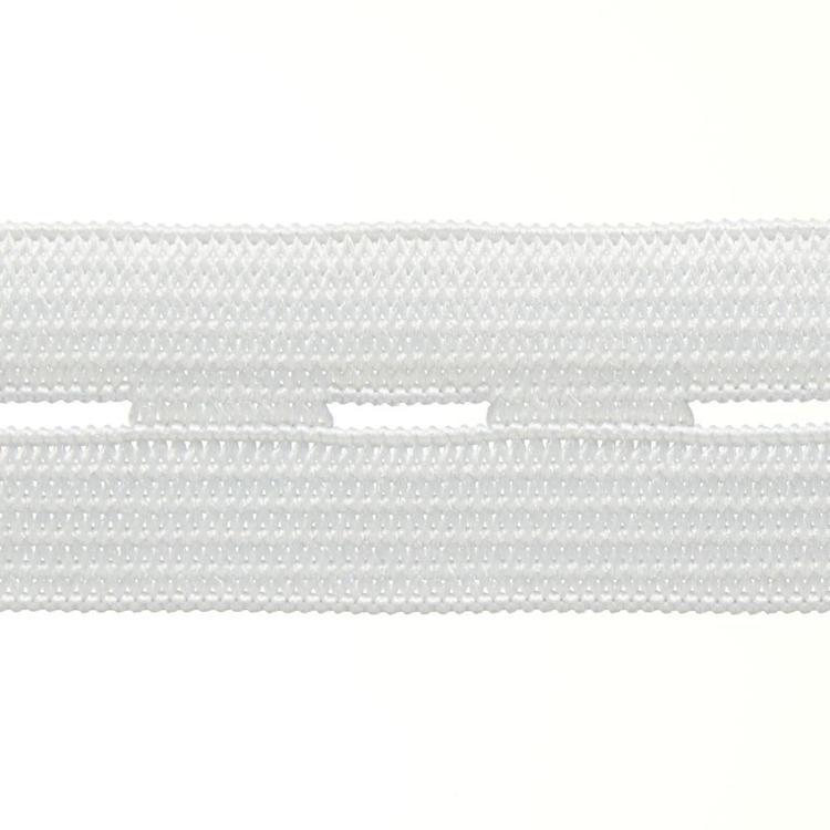 Birch Button Hole Elastic 1 Metre Roll