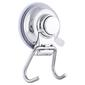 Naleon Classic Super Suction Twin Hook Chrome