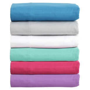 Brampton House 180 Thread Count Sheet Set - Everyday Bargain