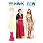 Kwik Sew K3736 Dresses & Jacket  X Small - X Large