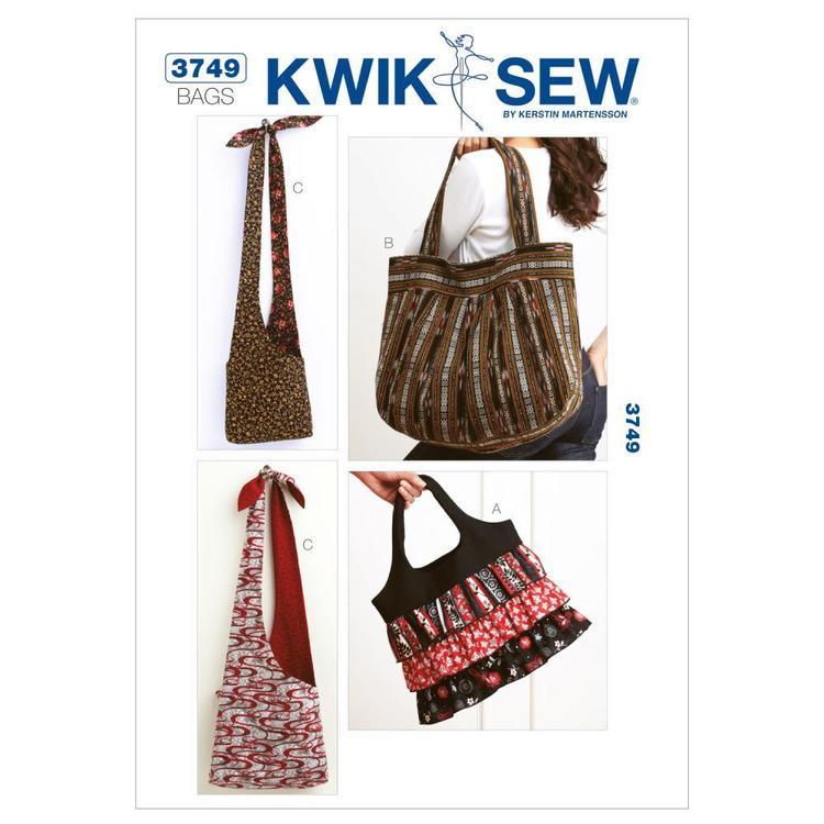 Kwik Sew Pattern K3749 Bags
