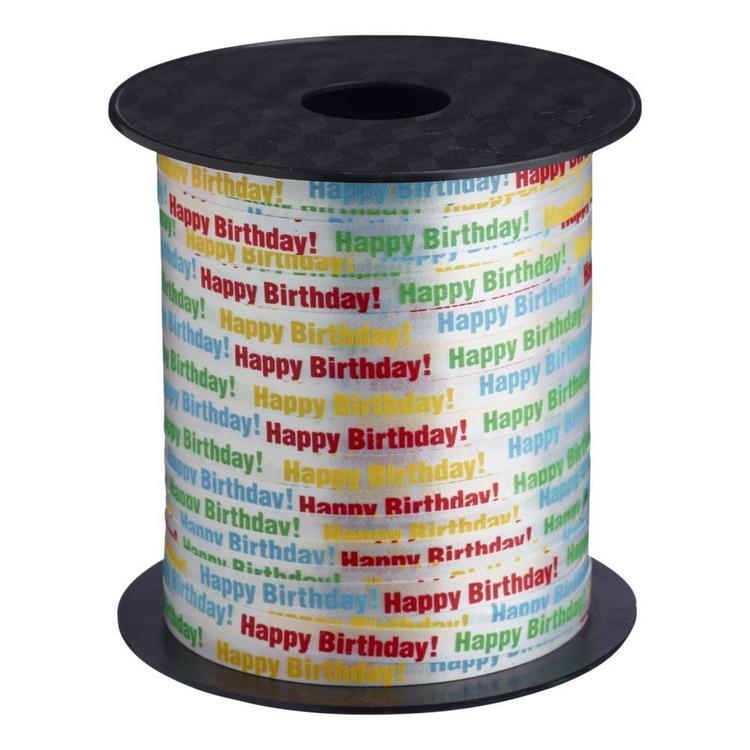 Birthday Curl Ribbon Reel