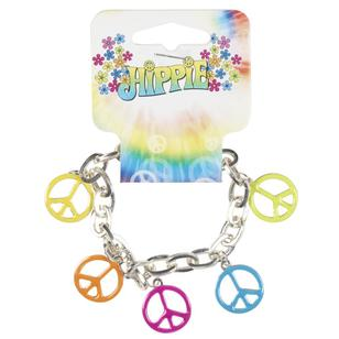 Party Additions Peace Charm Bracelet