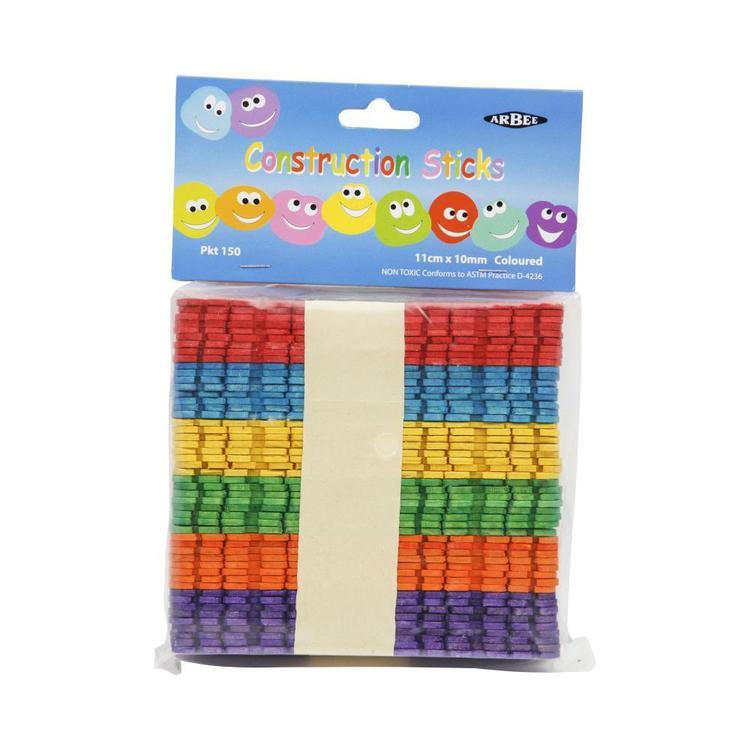 Arbee Construction Sticks 50 Pack