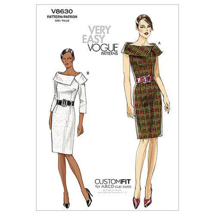 Vogue V8630 Misses' Dress
