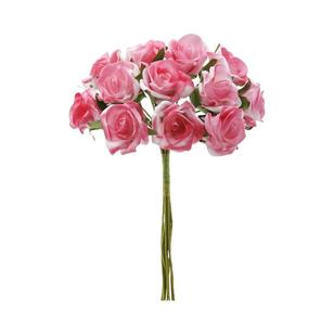 Vivaldi Blossoms 12 Head Foam Rose