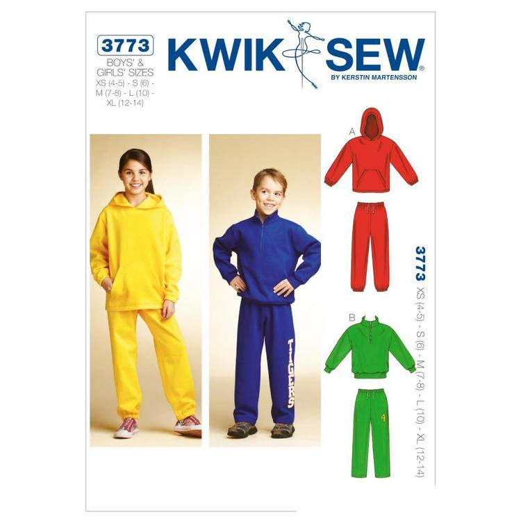 Kwik Sew Pattern K3773 Shirts & Pants