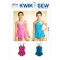 Kwik Sew K3774 Leotards  7 - 14