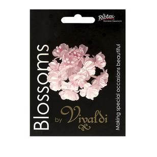 Vivaldi Blossoms 12 Head Flower With Pearl Stamens