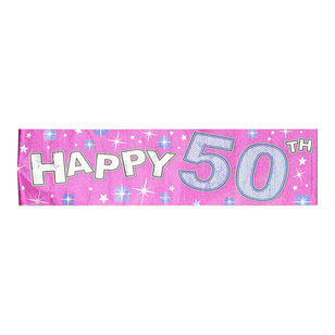 The Expressions Factory Happy 50th Banner