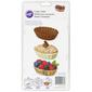 Wilton Candy Moulds Dessert Shell Brown