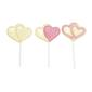 Wilton Double Hearts Lollipop Mould White