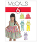McCalls M6017 Kids' Tops, Dresses, Shorts & Pants