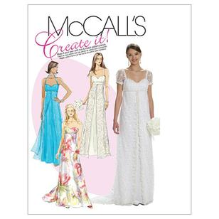 McCalls M6030 Misses' Lined Dresses